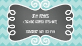 Unit Rates with Complex Fractions Scavenger Hunt