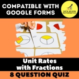 Unit Rates with Fractions Quiz for Google Forms™ - 7.RP.1
