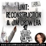 Unit- Reconstruction, Jim Crow & the Klu Klux Klan