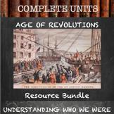 Unit Resource Bundle:  Age of Revolutions