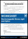 Unit Review - Electromagnetic Waves - Distance Learning
