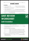 Unit Review - Evolution