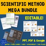 Scientific Method Bundle Labs Task Cards Notes & More