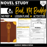 Bud Not Buddy Novel Unit with Lessons and Vocabulary