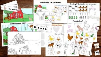 Unit Study: On the Farm