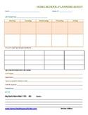 Unit Study Planner - 2 weeks