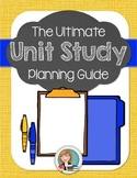 Unit Study Planning Pages