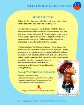 Unit Study: The Girl Who Could See by Kara Swanson