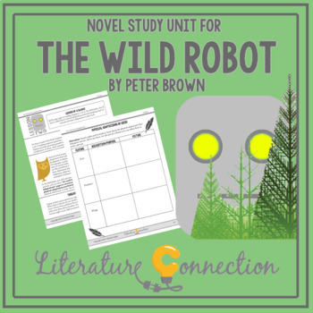 Unit Study on The Wild Robot by Peter Brown
