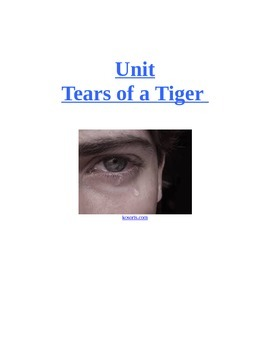 Tears of a Tiger  by Sharon M. Draper (A Unit)