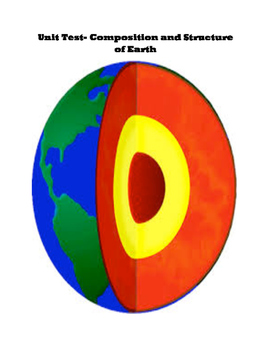 Unit Test- Earth's Structures