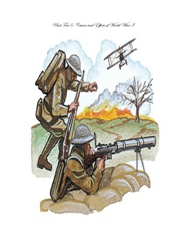 Unit Test- Causes and Effects of World War One