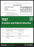 Unit Test - Evolution and Natural Selection