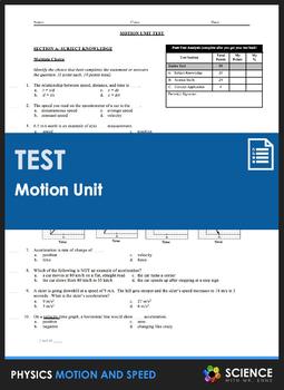 Unit Test - Motion