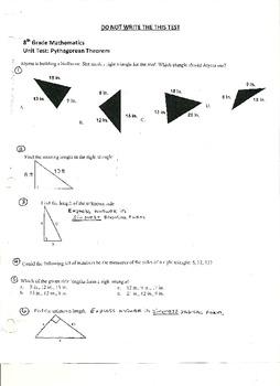 Unit Test:  Pythagorean Theorem