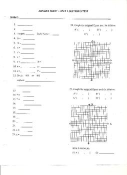 Unit Test:  Similarity