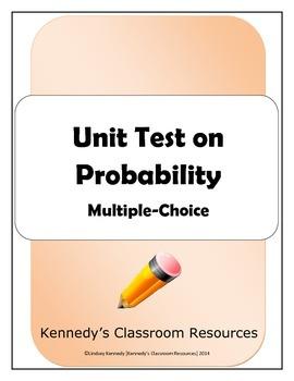 Unit Test on Probability - Multiple-Choice
