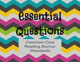 Unit Themes, Essential Questions & Standards Focus
