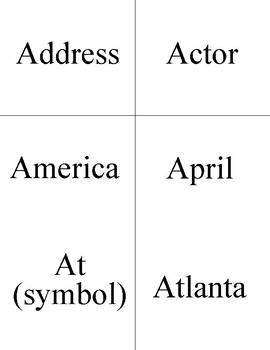 Unit Three ASL Flashcards