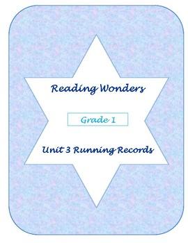 Unit Three Reading Wonders Running Records