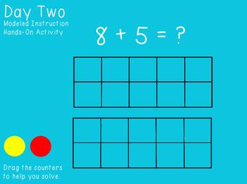 Unit Three Ready Math FlipCharts First Grade