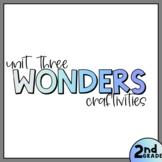 Unit Three - Second Grade Wonders 2020 - Craftivity Bundle