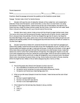 Unit Transformation Theme Assessment
