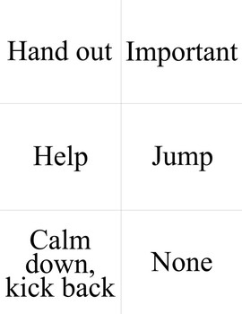 Unit Two ASL Flashcards