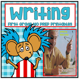 Unit Two Lesson Nine Writing First Grade NO PREP Supplemental Printables