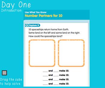 Unit Two Ready Math FlipCharts 1st Grade