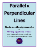 Unit - Writing Equations of Parallel and Perpendicular Lines