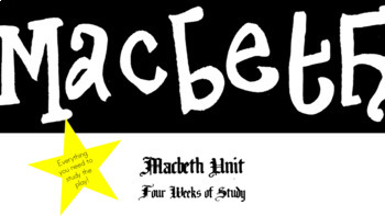 Unit for Macbeth