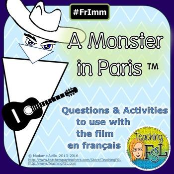 Unit for Un Monstre à Paris (animated movie)
