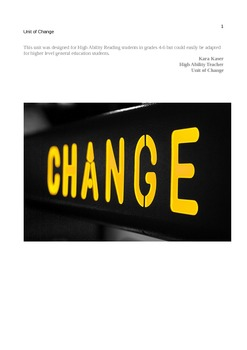 Unit of Change