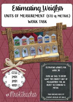 Weights Metric/Standard **Work Jig Task**Task Boxes**