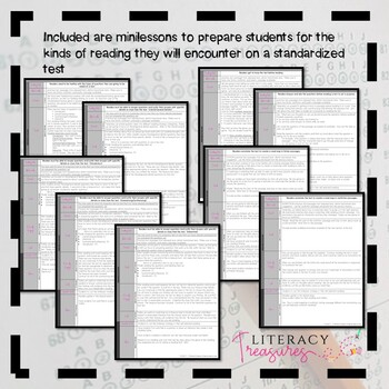 Reading Test Preparation--A Unit of Study