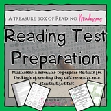 Reading Test Preparation--A Collection of Minilessons to P