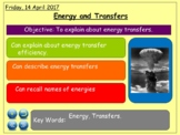 """Unit of Work """"Energy and Heat Transfer + Magnetism"""" 11-13 Year Olds"""