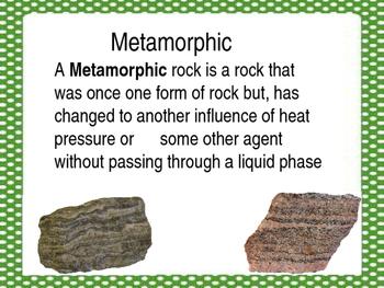 Unit of inquiry rocks brochures