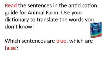 Animal Farm for Lower-Level ESL Students