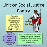 Unit on Social Justice Poetry