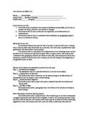 Unit outline for Revolutionary War