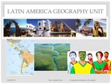 Unit over the Geography of Latin America