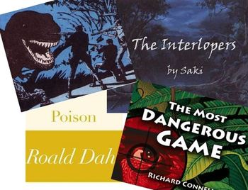 Unit test: The Most Dangerous Game, Sound of Thunder, Interlopers, Poison