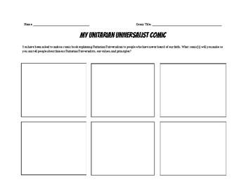 Unitarian Universalist UU Comic
