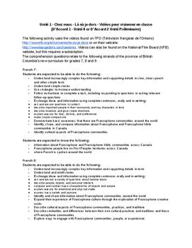 Làoùjedors - Chez Nous - French Listening Comprehension