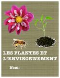 Unité Complet: Les plantes et l'environnement (La croissance des plantes)