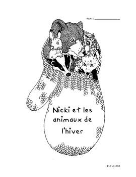 Unité sur Nicki et les animaux de l'hiver