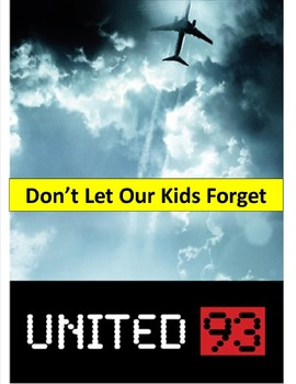 United 93 (Flight 93)  Movie Viewing Guide with background info & terms