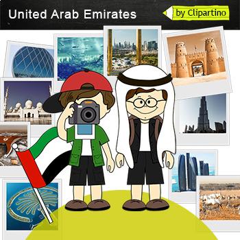 United Arab Emirates Clipart-Top 13 Tourist Places